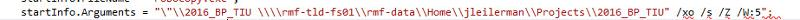 after edit of code error
