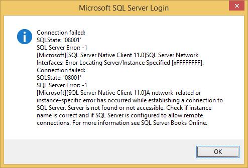 error screen shot