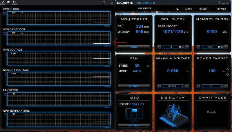 Gigabyte performance tool