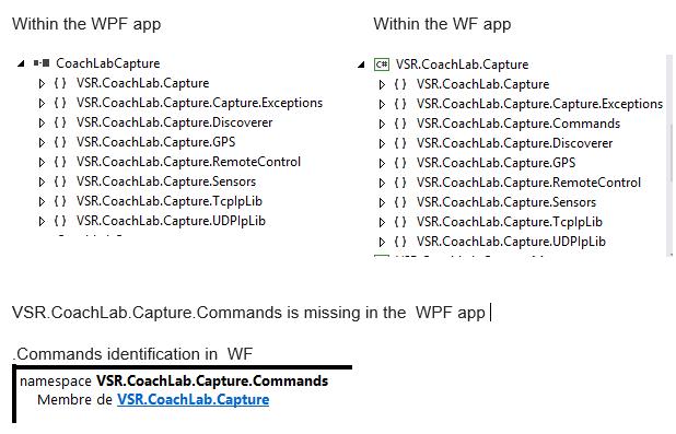 Coparison of the two projects description