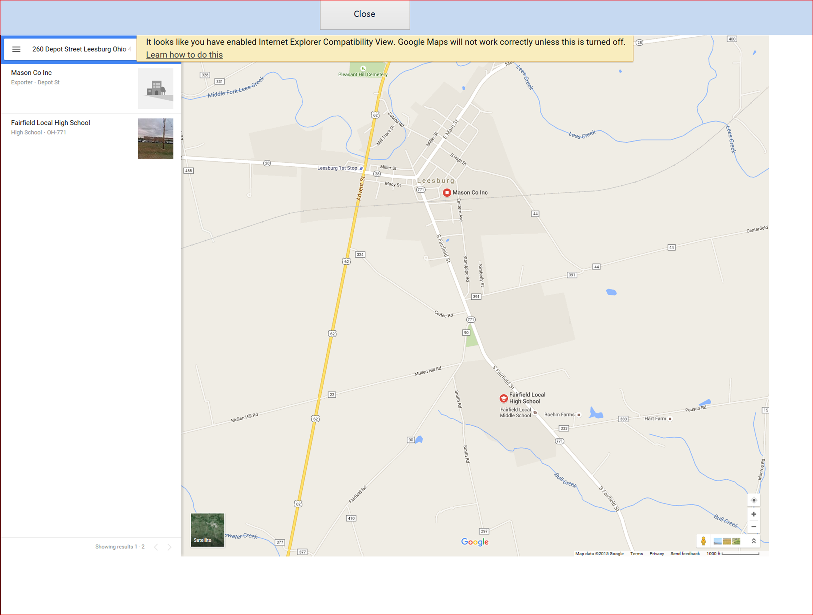 google maps driving directions issuepng