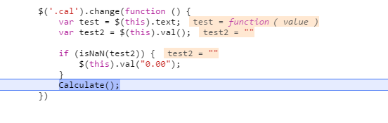 picture of code in action