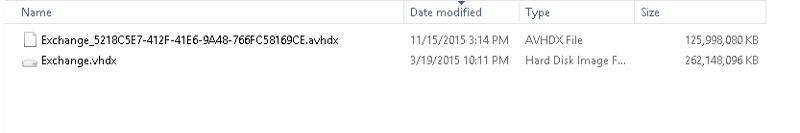 file size