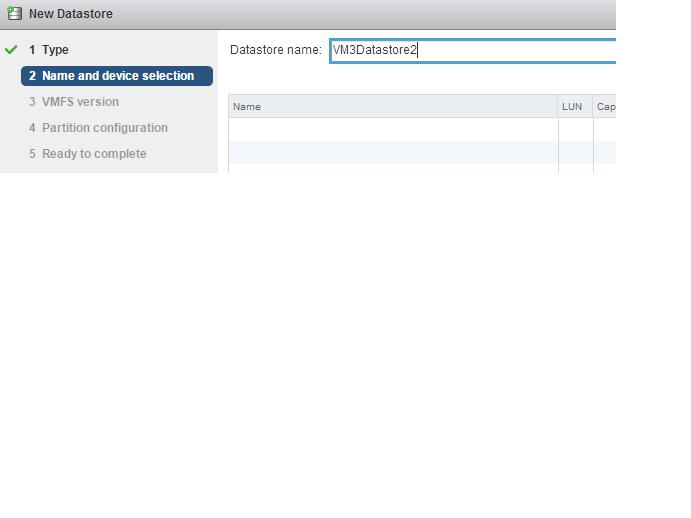 Create Datastore2
