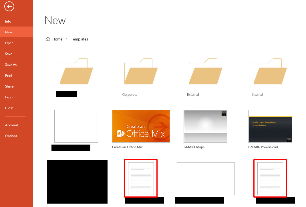 Powerpoint template thumbnails not being generated for backstage use toneelgroepblik Choice Image