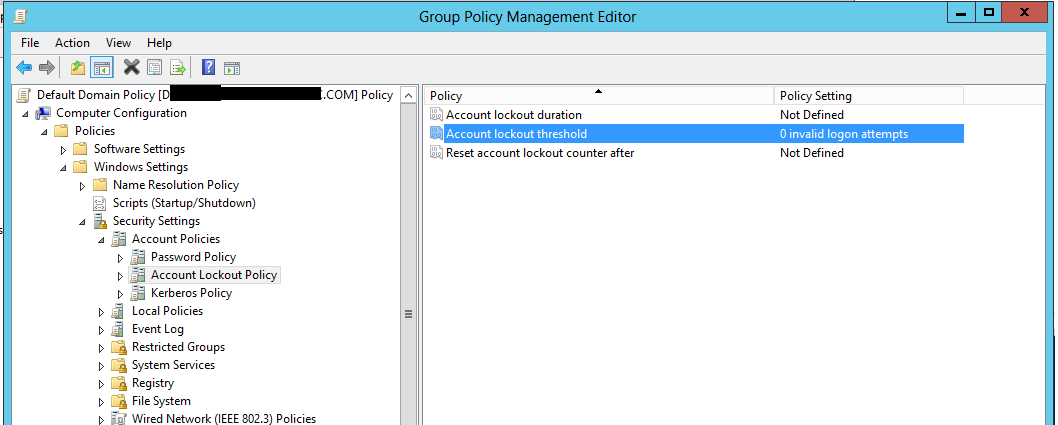 Set Group Policy Object with Powershell? (Default Domain