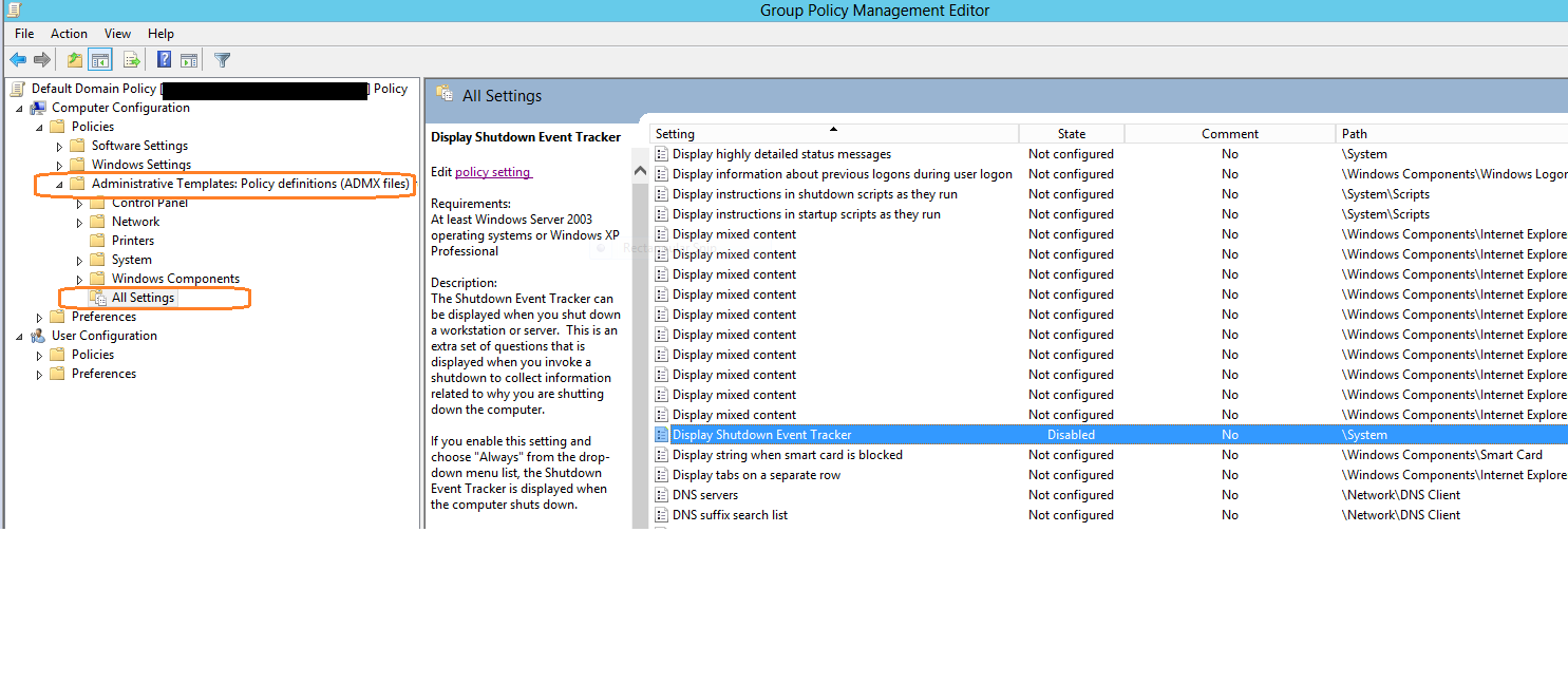 Set Administrative Templates Policy Definitions Amdx Files
