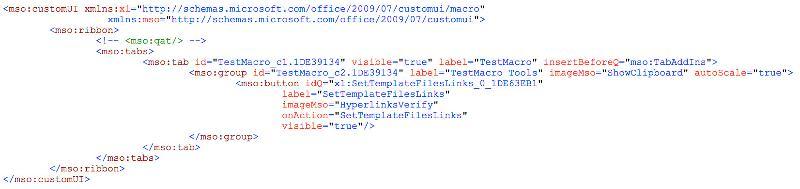 PowerPoint ribbon test XML