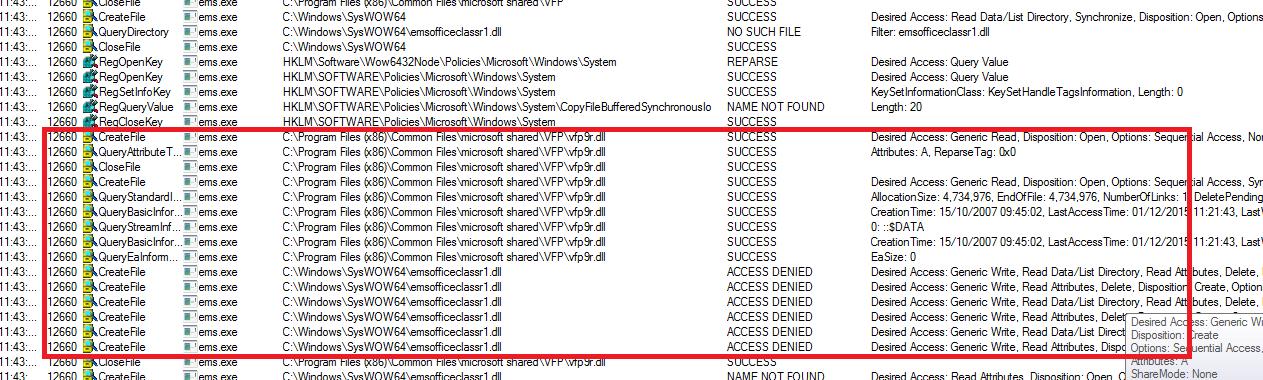 Error 0x80004005 Copying Files