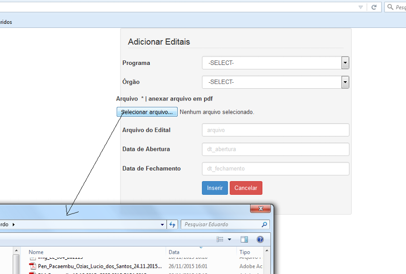 SOLUTION] How to embed Codeigniter's upload functionality in
