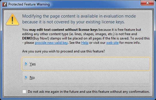 PDF-XChange Editor - Edit Content