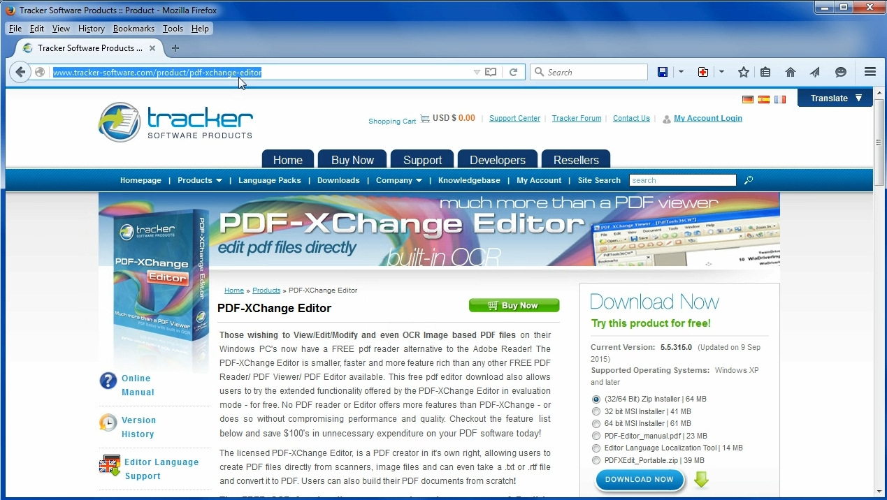 How To Rotate Pages In A Pdf With Free Software Xchange Editor Click The Image For Version Step1