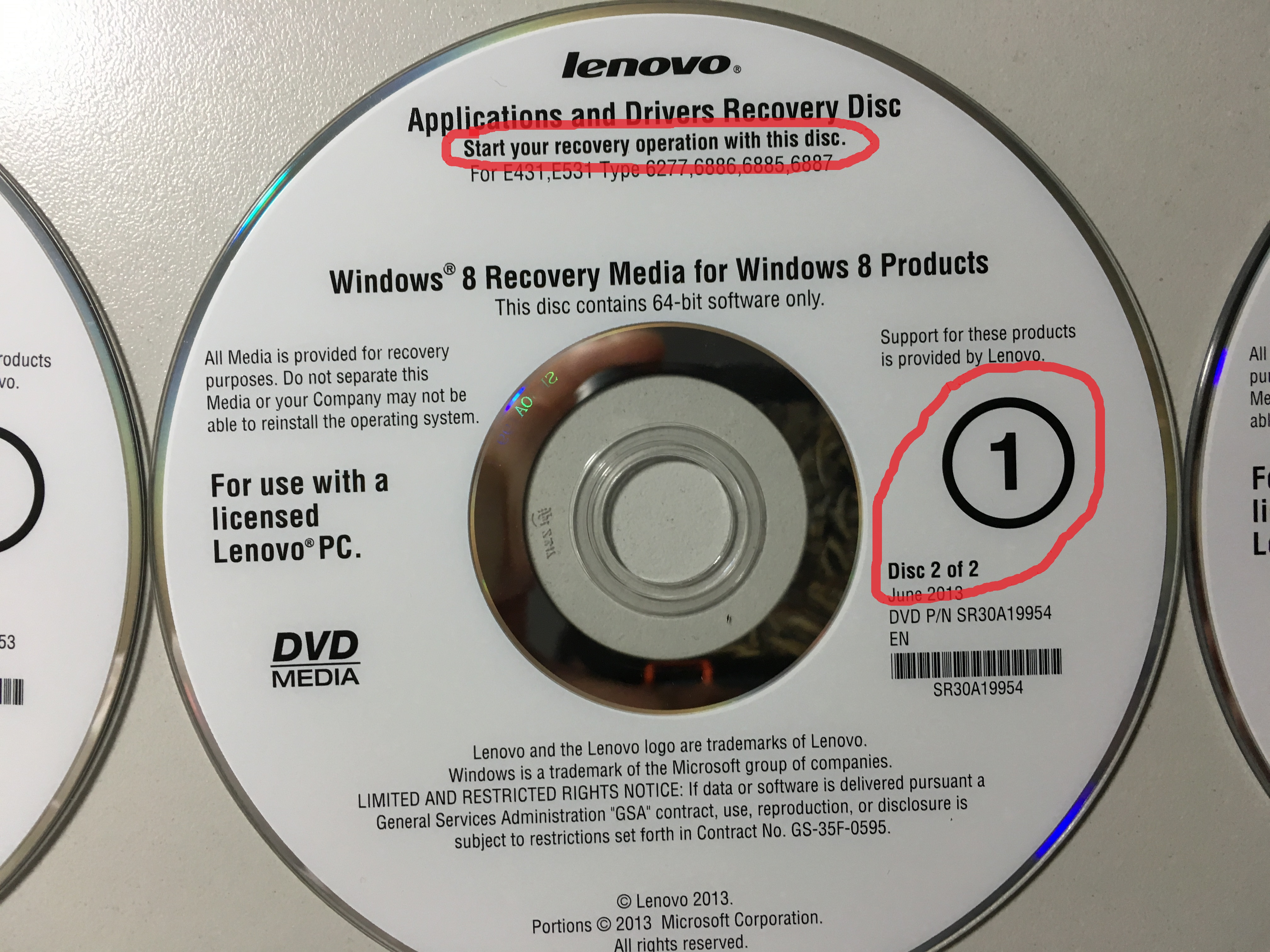 how to create recovery disk in lenovo laptop