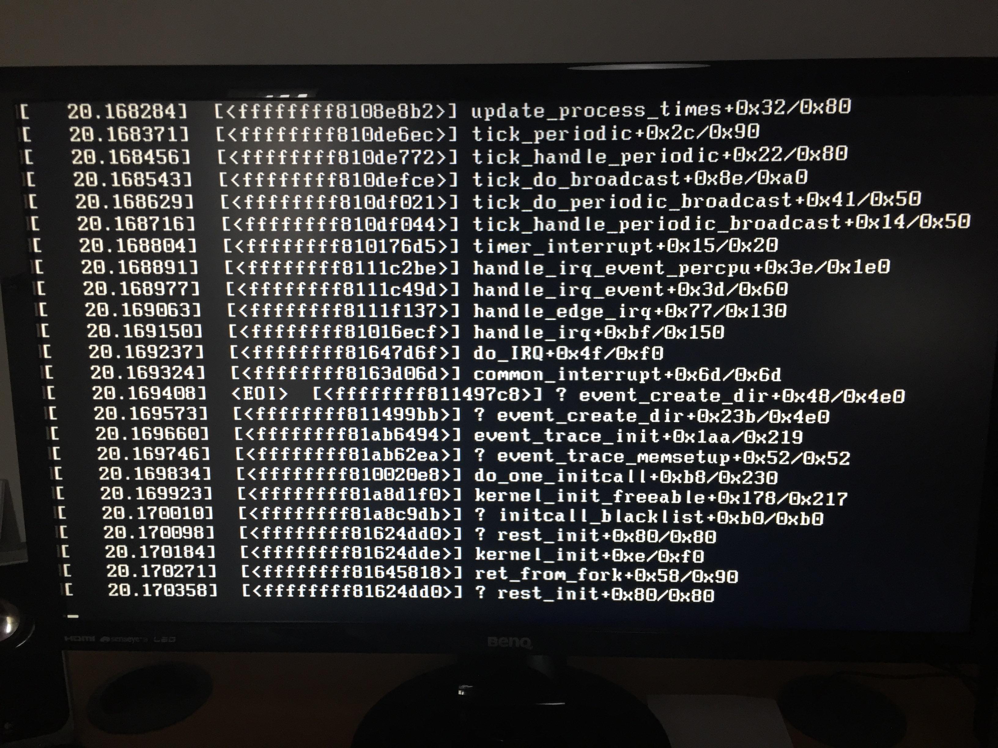 Centos 7 won't boot after yum update