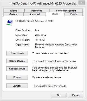 Windows 8 randomly disconnects from Wifi (WPA2 TKIP/AES)