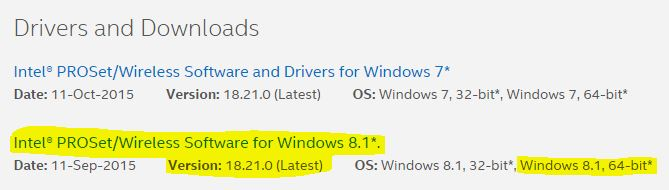 2 - Version 18.21.0 (latest) supported