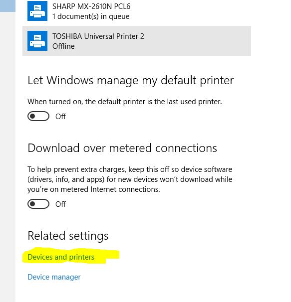 Can't Scan in Windows 10