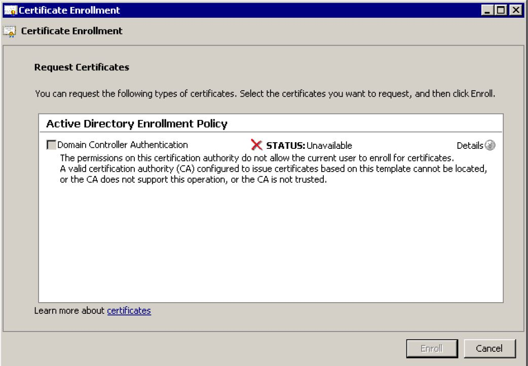 Solution certificate authority chain has expired event id 58 renewg yadclub Choice Image