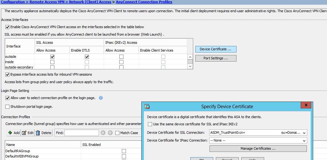 Cisco Asa 5515 How Renew Ssl Certiciate