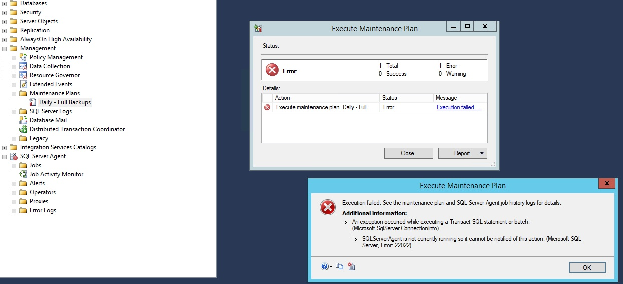 Solution] Sql Server Agent Does Not Start After Upgrade From