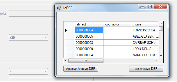 How to obtain VFP OLEDB string connection to use in code?