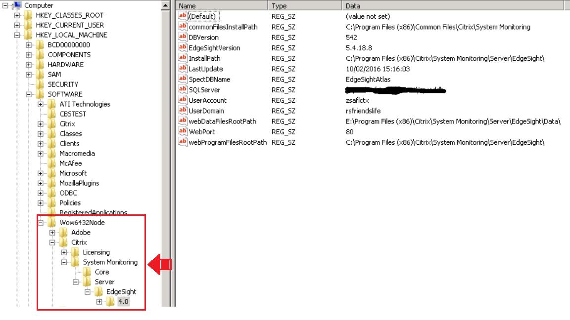 Citrix EdgeSight 5 4 - unable to view reports