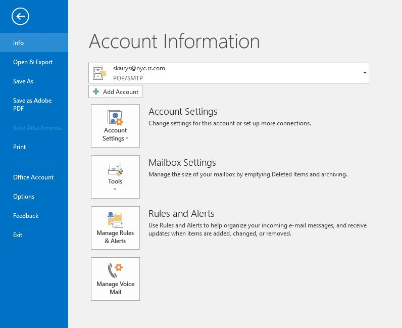 Outlook 2016 cannot find automatic replied out of office - Set up out of office in outlook ...