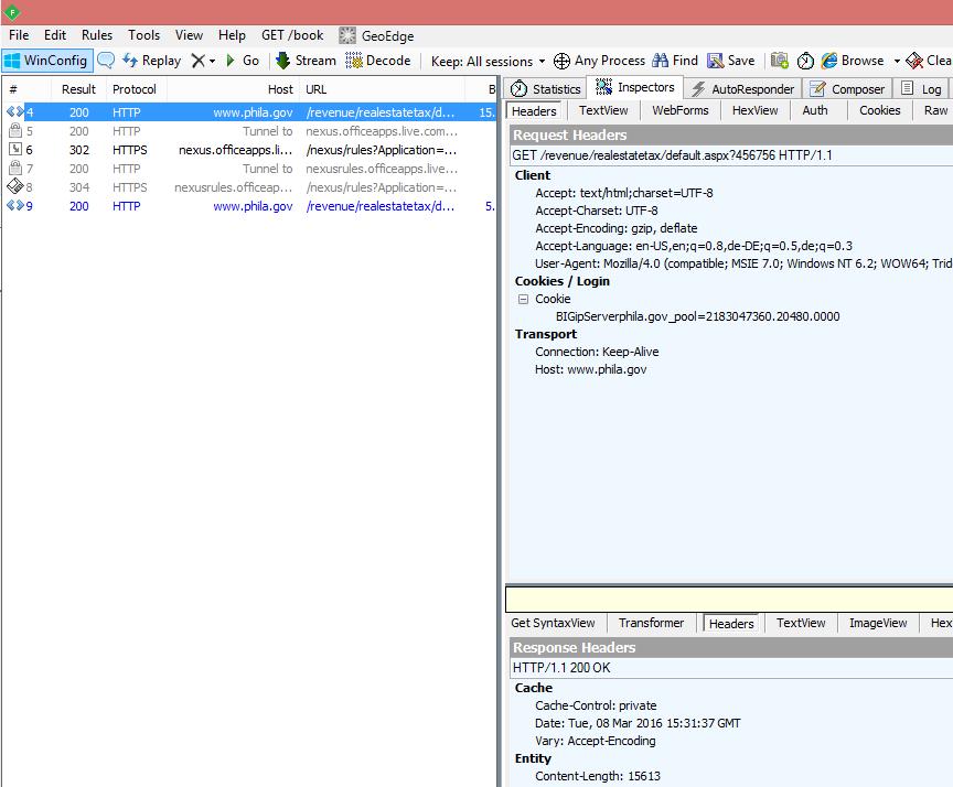 XML web scraping a website with dynamic key