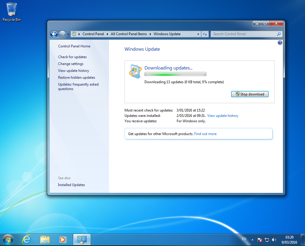 update for windows 7 (kb3102810)