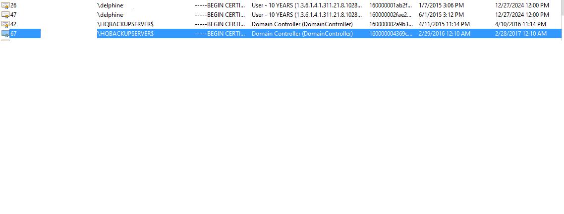 Window Ca Certificate Renewal