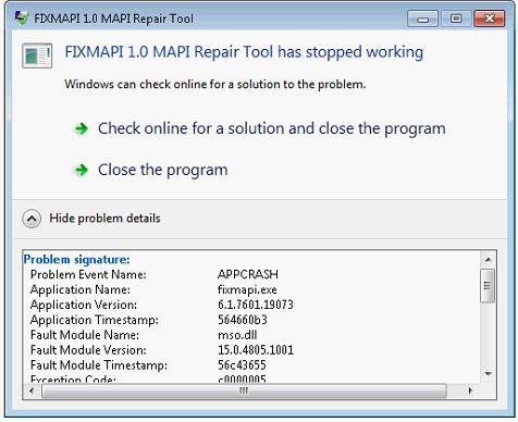 SOLUTION] Snipping Tool Receives Fixmapi Error