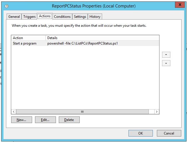 How to send automatically an e-mail with a report of