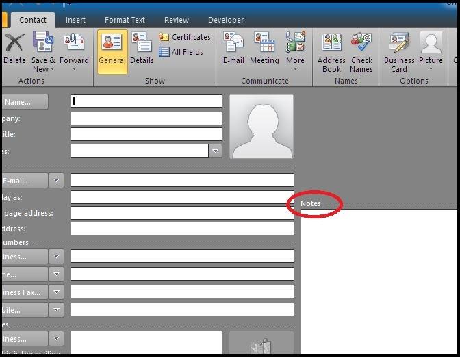 Outlook 2010 Address Book Script