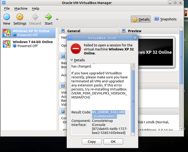Importing OS as Oracle VM Virualbox Appliance - USB Access No longer