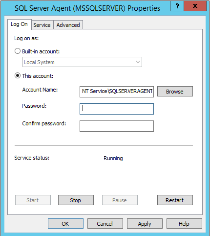 SOLUTION] AD Service Account for SQL Processes