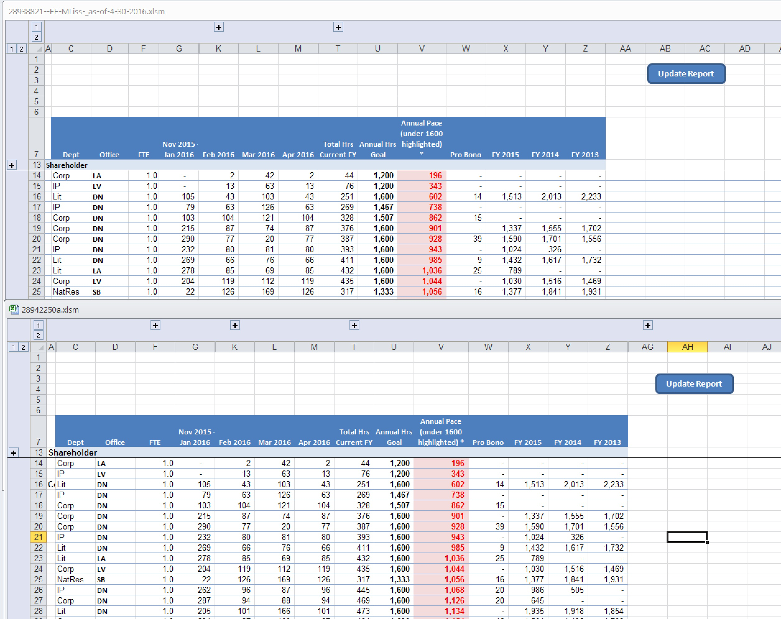 VBA Code in Excel to Group/Ungroup Certain Columns Based Off a Date ...