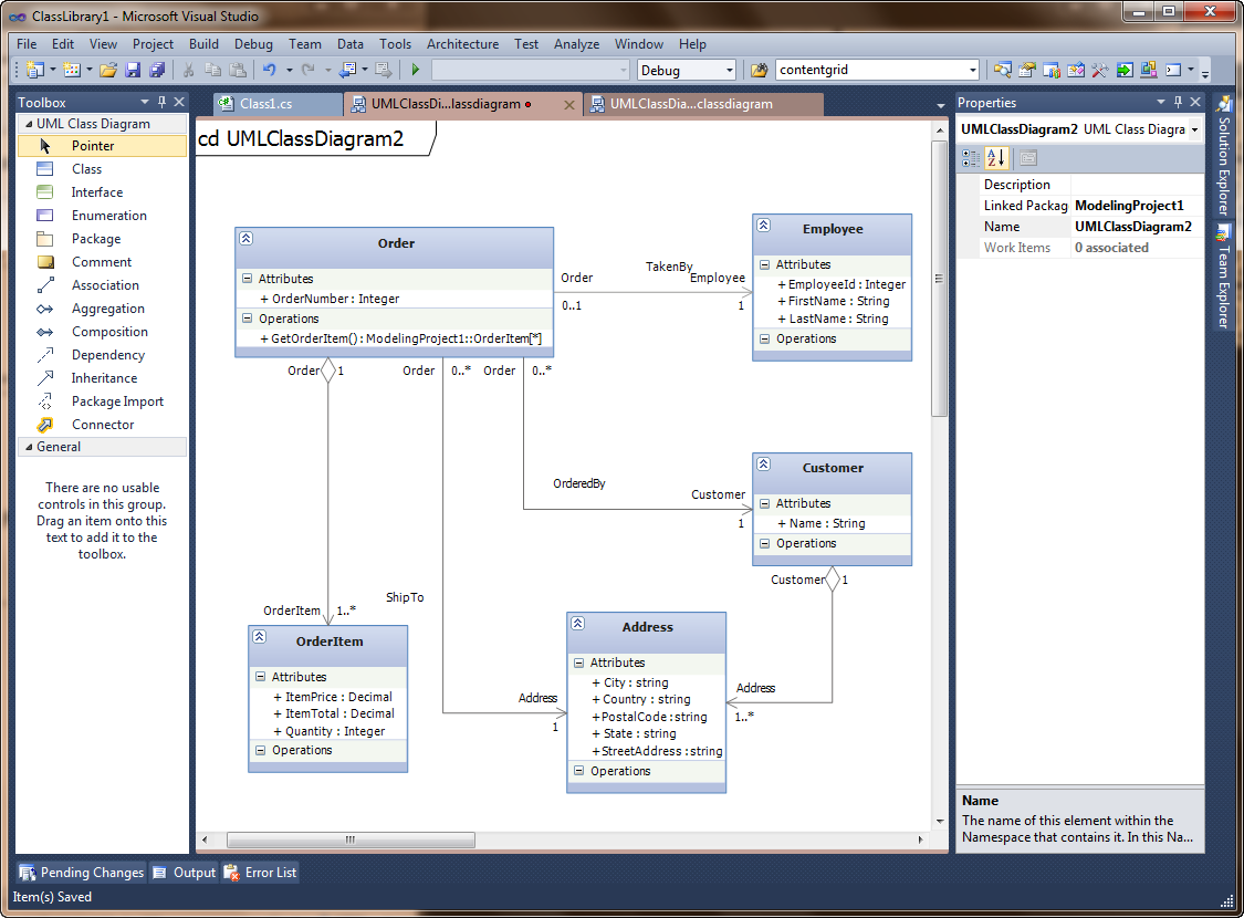 Software tool to depict the structure of a visual studio solution class ccuart Image collections