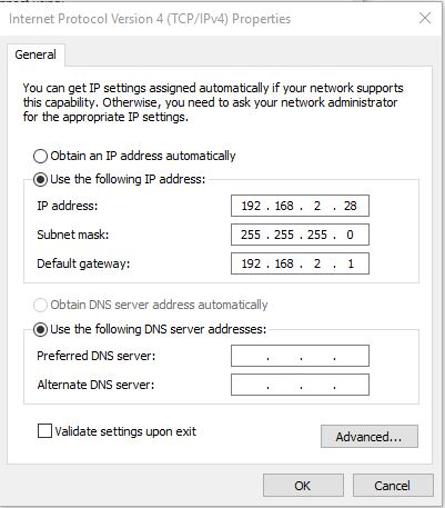 Windows 10 Static IP Configuration loses DNS Server after a reboot.  Solutions | Experts Exchange