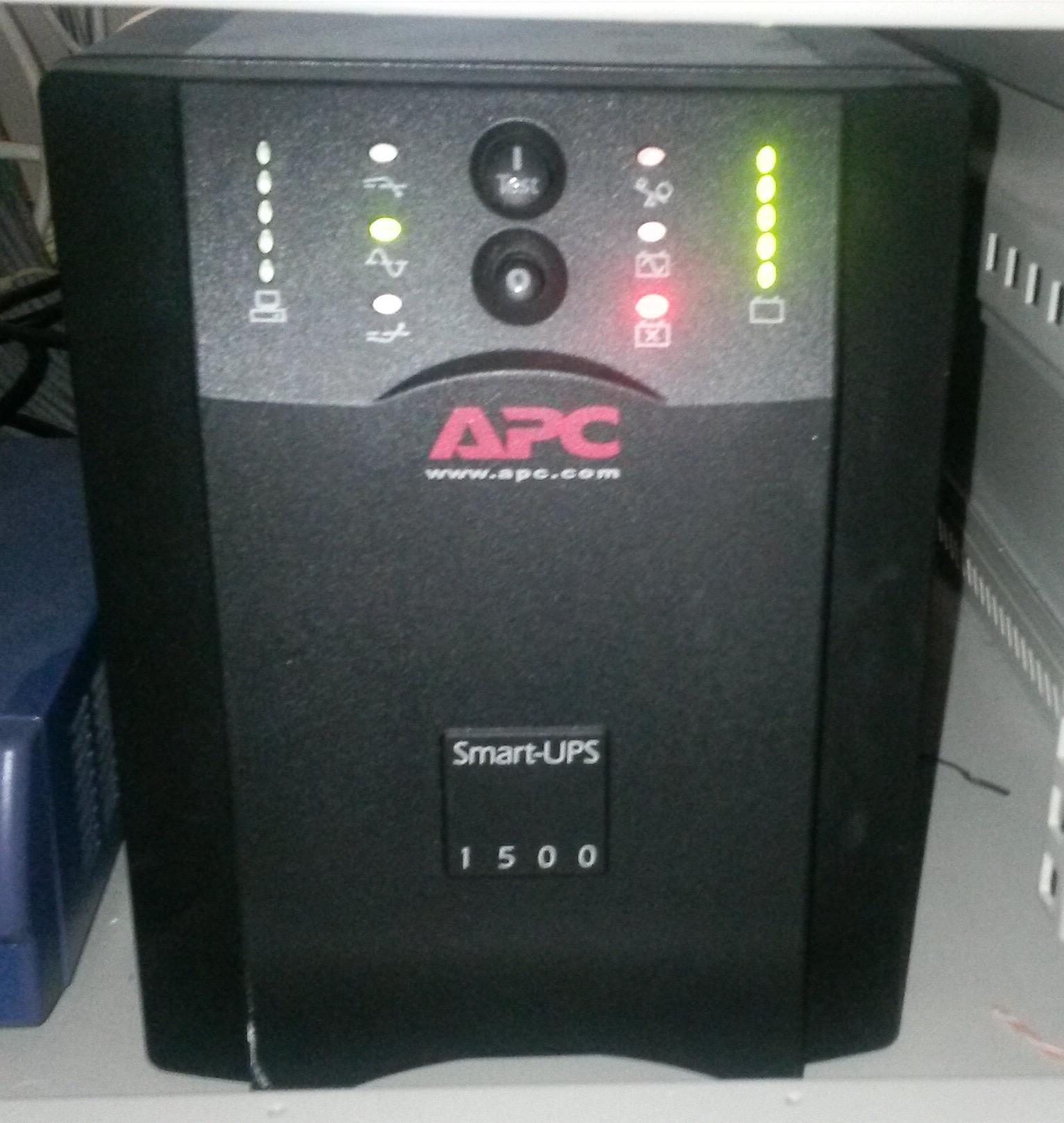 Apc Ups 1500 Serial Port Settings