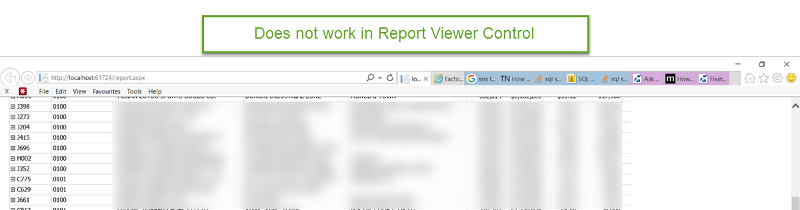 Report View Control