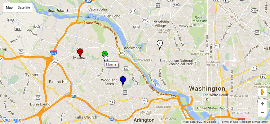 Using the Google Maps API in PHP and JavaScript