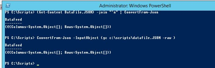 Powershell] convert JSON file to CSV file
