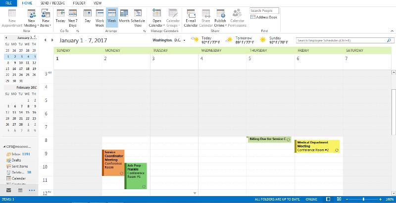 Pubic Folder- Calendar