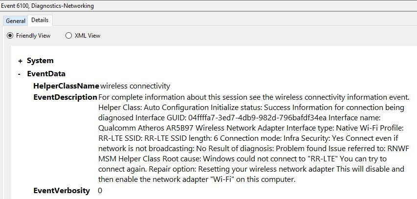 Windows 10 Wifi issues - Unable to connect to network (random)