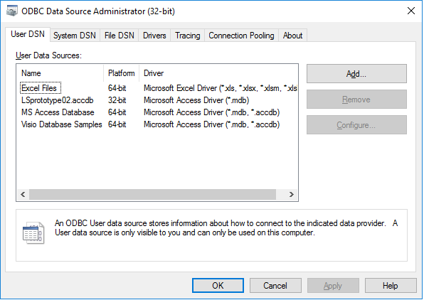 ODBC Data Source