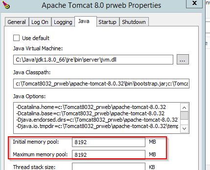 SOLUTION] How to find Tomcat initial memory and Max memory