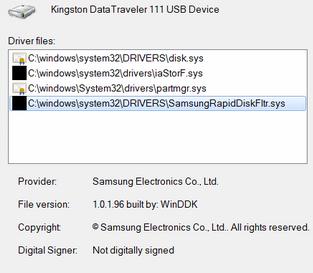 Samsung != Intel