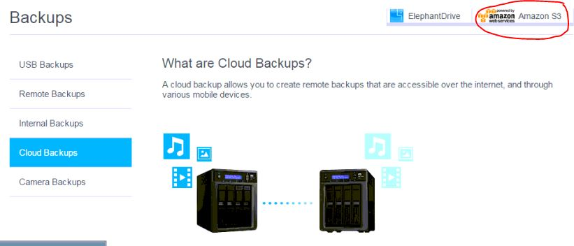 Trying to setup WD MyCloud NAS with Amazon AWS S3