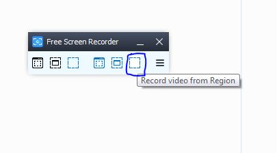 record video with regeon