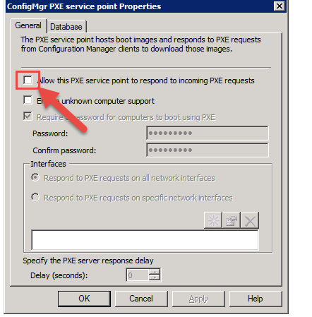 Client not resigtered with SCCM 2012 after booting to WinPE